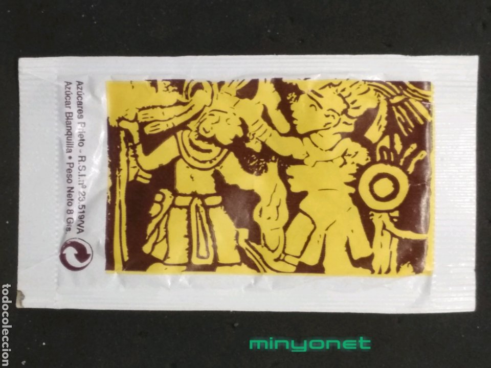 Sobres de azúcar de colección: Sobre de azúcar de El Templo del Café. A. Prieto, 8 gr. - Foto 2 - 194763172