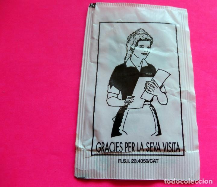 Sobres de azúcar de colección: SOBRE DE AZÚCAR - DAINA BAR BRASERIA - VILADRAU - GIRONA - (VER FOTOS) - VACÍOS - Foto 2 - 194768876
