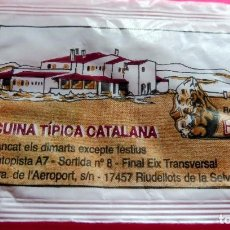 Sobres de azúcar de colección: SOBRE DE AZÚCAR - RESTAURANT LA ROCA PETITA - RIUDELLOTS DE LA SELVA - GIRONA - VER FOTOS - VACÍOS. Lote 195024002
