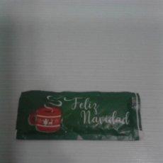 Sobres de azúcar de colección: SOBRE DE AZÚCAR FELIZ NAVIDAD.. Lote 195035047
