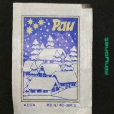 Sobres de azúcar de colección: SOBRE DE AZÚCAR SERIE NAVIDAD - PAU - JOYEUX NOEL. AESA, 10 GR.. Lote 195074621