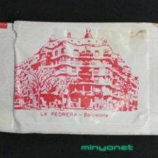 Sobres de azúcar de colección: SOBRE DE AZÚCAR SERIE MONUMENTOS - LA PEDRERA - BARCELONA. ERP, 10 GR.. Lote 195254093