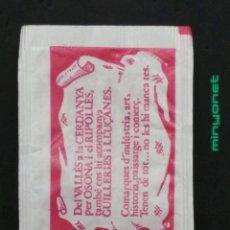 Sobres de azúcar de colección: SOBRE DE AZÚCAR GENÉRICO - COMARCAS CATALUNYA. BARA EZQUERRA, 10 GR.. Lote 195255855