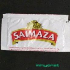 Sobres de azúcar de colección: SOBRE DE AZÚCAR DE CAFÉS SAIMAZA. SANFRA., 6 GR.. Lote 195362151