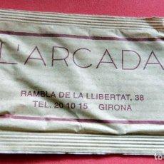 Sobres de azúcar de colección: SOBRE DE AZÚCAR - L'ARCADA - GIRONA. Lote 195431003