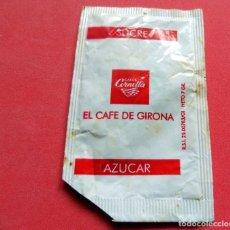 Sobres de azúcar de colección: SOBRE DE AZÚCAR - GIRONA - CORNELLA EL CAFÉ DE GIRONA. Lote 195485623