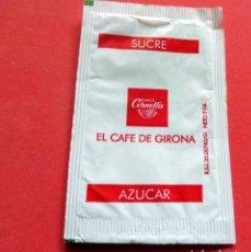Sobres de azúcar de colección: SOBRE DE AZÚCAR - GIRONA - CORNELLA EL CAFÉ DE GIRONA. Lote 195485706