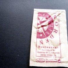 Bustine di zucchero di collezione: SOBRE DE AZÚCAR - RESTAURANT NORDEN - TERRASSA - BARCELONA. Lote 197782331