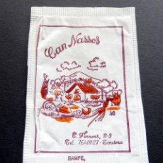 Bustine di zucchero di collezione: SOBRE DE AZÚCAR - CAN NASSOS - TORDERA - BARCELONA. Lote 197782695