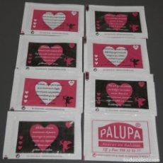 Sobres de azúcar de colección: SERIE DE SOBRES DE AZUCAR - PALUPA. Lote 198249708