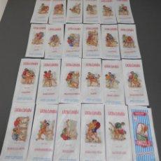 Sobres de azúcar de colección: SERIE DE SOBRES DE AZUCAR - AZUCAR AMALGOLDI. Lote 198250622