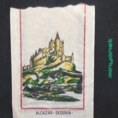 Sobres de azúcar de colección: SOBRE DE AZÚCAR SERIE MONUMENTOS - ALCÁZAR - SEGOVIA. BRASILIA, 10 GR.. Lote 198290852