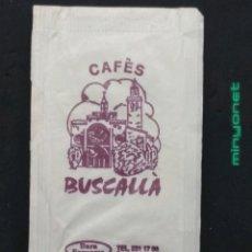 Bustine di zucchero di collezione: SOBRE DE AZÚCAR DE CAFÈS BUSCALL ÀNIMS. BARA EZQUERRA, 8 GR.. Lote 198392168