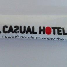 Sobres de azúcar de colección: SOBRE DE AZÚCAR CASUAL HOTELES. Lote 198590810