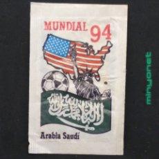 Bustine di zucchero di collezione: SOBRE DE AZÚCAR SERIE MUNDIAL 94 - ARABIA SAUDÍ. BRASILIA. PRODUCTOS DEL CAFÉ, 10 GR.. Lote 198677630
