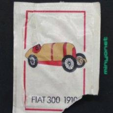 Sobres de azúcar de colección: SOBRE DE AZÚCAR SERIE AUTOMÓVILES ANTIGUOS - FIAT 300 1910. BRASILIA. 10 GR.. Lote 199096340
