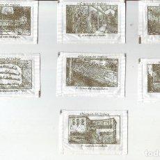 Sobres de azúcar de colección: VILLANUEVA DEL TRABUCO - LOTE DE SOBRES DE AZÚCAR. Lote 200544326