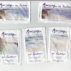 Sobres de azúcar de colección: EXPOSICION DEL PINTOR MARNAY - LOTE DE SOBRES DE AZÚCAR. Lote 200544367