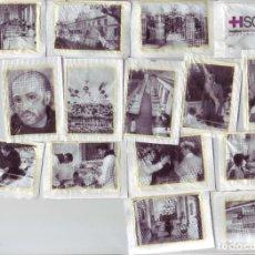 Sobres de azúcar de colección: 75 ANIVERSARIO HOSPITAL SANTA CLOTILDE - SANTANDER - LOTE DE SOBRES DE AZÚCAR. Lote 200544508