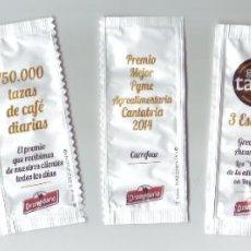Sobres de azúcar de colección: SERIE DE SOBRES DE AZÚCAR - DROMEDARIO. Lote 200544760