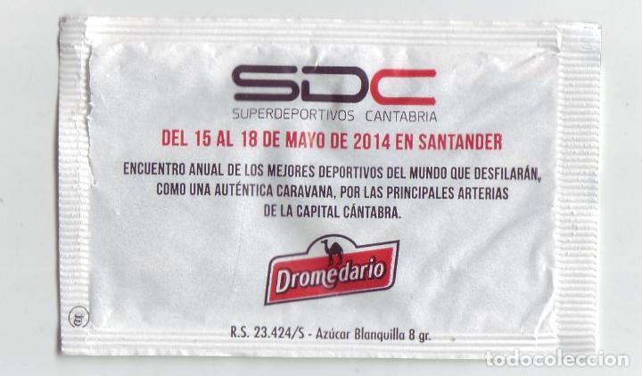 Sobres de azúcar de colección: SUPERDEPORTIVOS CANTABRIA - LOTE DE SOBRES DE AZÚCAR - Foto 2 - 200544776