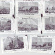 Sobres de azúcar de colección: GRABADOS DE PORTUGAL - LOTE DE SOBRES DE AZÚCAR. Lote 200544971