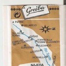 Bustine di zucchero di collezione: SOBRE AZÚCAR. RÍO TUERTO. CAFÉS GREIBA. CORTADO SUPERIOR. REF. 25-1410. Lote 243958355