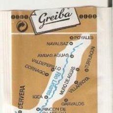 Bustine di zucchero di collezione: SOBRE AZÚCAR. RÍO LINARES. CAFÉS GREIBA. CORTADO SUPERIOR. REF. 25-1415. Lote 243958415
