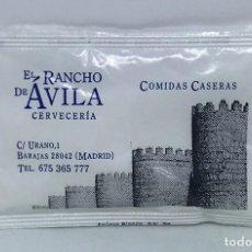 Pacotes de Açúcar de coleção: SOBRE DE AZUCAR LLENO, EL RANCHO DE AVILA. Lote 202492358