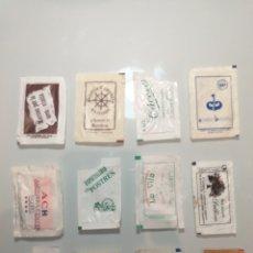 Sobres de azúcar de colección: LOTE B - 12 SOBRES AZÚCAR - BARCELONA BARES RESTAURANTES CATALUÑA. Lote 202942763