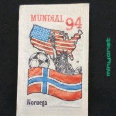 Bustine di zucchero di collezione: SOBRE DE AZÚCAR SERIE MUNDIAL 94 - NORUEGA. CAFÉS BRASILIA. PRODUCTOS DEL CAFÉ. 10 GR.. Lote 204641320