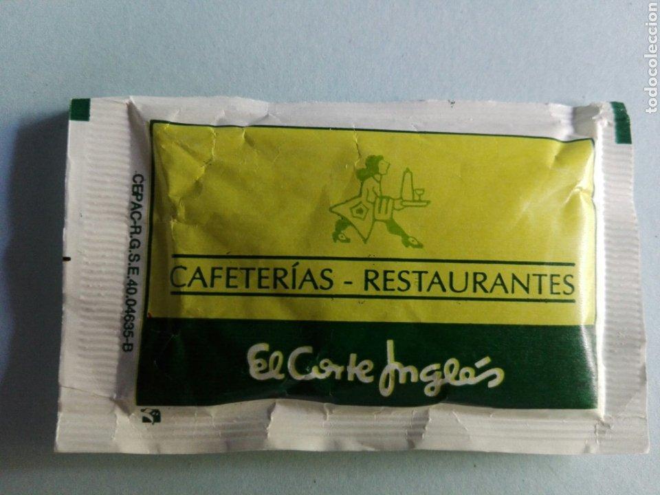 1 SOBRE DE AZÚCAR / AZUCARILLO LLENO- LA ESTRELLA EL CORTE INGLÉS - AÑOS 90 - PEDIDO MÍNIMO (Coleccionismos - Sobres de Azúcar)