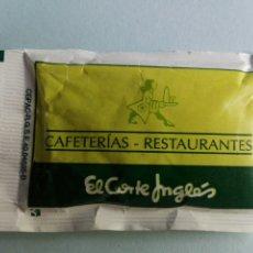 Bustine di zucchero di collezione: 1 SOBRE DE AZÚCAR / AZUCARILLO LLENO- LA ESTRELLA EL CORTE INGLÉS - AÑOS 90 - PEDIDO MÍNIMO. Lote 205566602
