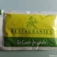 Bustine di zucchero di collezione: 1 SOBRE DE AZÚCAR / AZUCARILLO LLENO - EL CORTE INGLÉS CAFETERÍA RESTAURANTE-AÑOS 90 - PEDIDO MÍNIMO. Lote 205566938