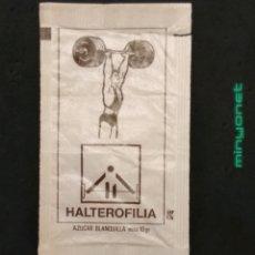 Sobres de azúcar de colección: SOBRE DE AZÚCAR SERIE DEPORTES OLÍMPICOS - HALTEROFÍLIA. RAMPE, 10 GR M. Lote 205883551