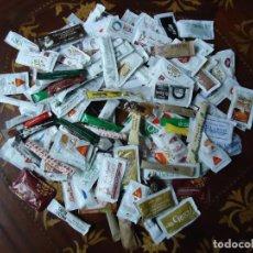 Sobres de azúcar de colección: LOTE DE 150 SOBRES DE AZÚCAR LLENOS.VARIOS TAMAÑOS Y DE VARIOS PAÍSES. MAYORÍA ESPAÑOLES.. Lote 206189000