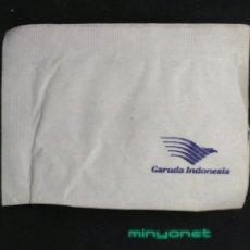 Sobres de azúcar de colección: SOBRE DE AZÚCAR DE GARUDA INDONESIA AEROLÍNEAS. - AIRLINES - AIRWAYS. Lote 206309193