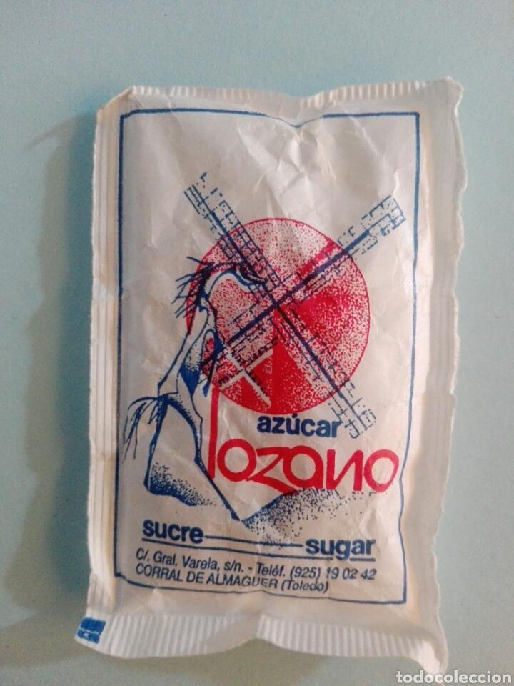 Sobres de azúcar de colección: 1 Sobre de azúcar / Azucarillo lleno - Azúcar Lozano - Años 90 - Pedido mínimo - Foto 2 - 206954756
