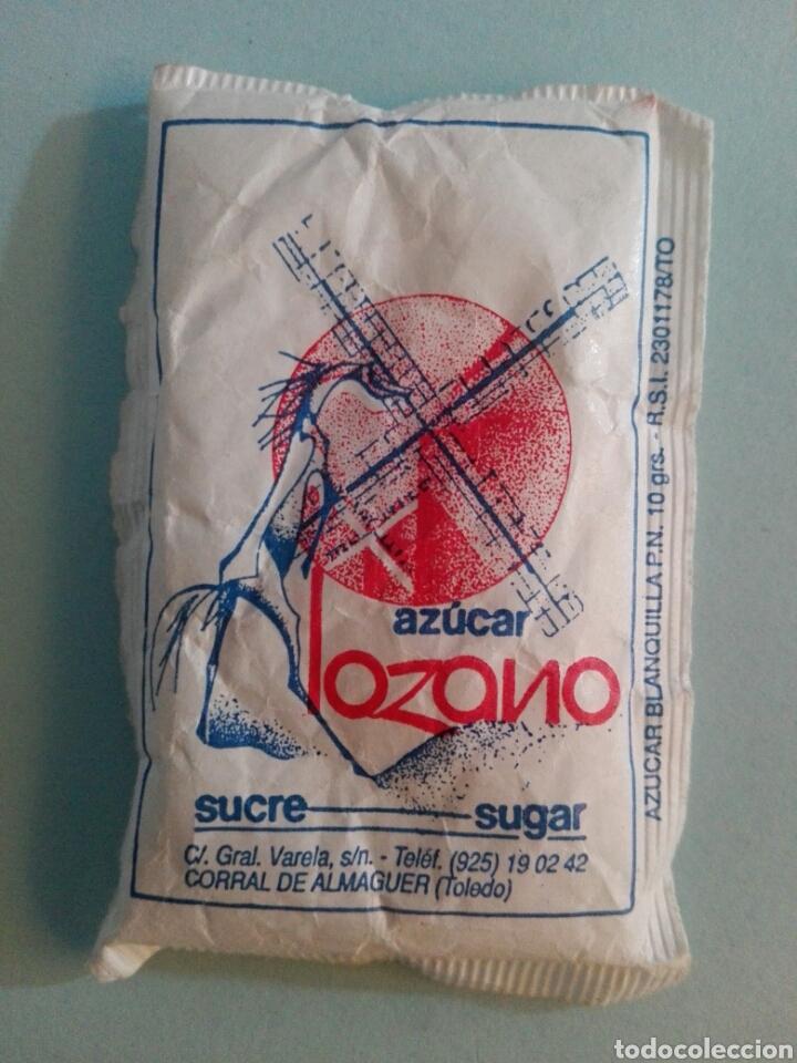 1 SOBRE DE AZÚCAR / AZUCARILLO LLENO - AZÚCAR LOZANO - AÑOS 90 - PEDIDO MÍNIMO (Coleccionismos - Sobres de Azúcar)
