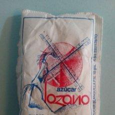 Sobres de azúcar de colección: 1 SOBRE DE AZÚCAR / AZUCARILLO LLENO - AZÚCAR LOZANO - AÑOS 90 - PEDIDO MÍNIMO. Lote 206954756