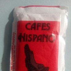 Sobres de azúcar de colección: 1 SOBRE DE AZÚCAR / AZUCARILLO LLENO - CAFÉS HISPANO - AÑOS 90 - PEDIDO MÍNIMO. Lote 206955498