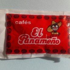 Sobres de azúcar de colección: 1 SOBRE DE AZÚCAR / AZUCARILLO LLENO - CAFÉS EL PANAMEÑO - AÑOS 90 - PEDIDO MÍNIMO. Lote 206955660