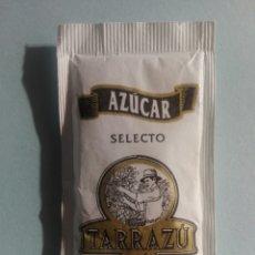 Sobres de azúcar de colección: 1 SOBRE DE AZÚCAR / AZUCARILLO LLENO - CAFÉS TARRAZÚ - AÑOS 90 - PEDIDO MÍNIMO. Lote 206956392