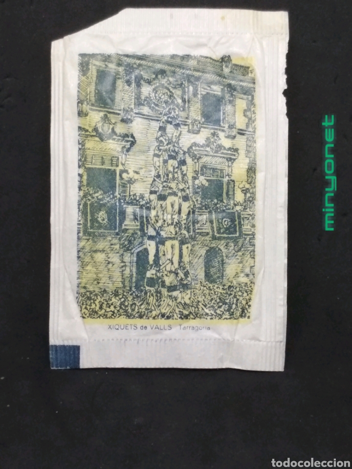 SOBRE DE AZÚCAR SERIE MONUMENTOS - XIQUETS DE VALLS - TARRAGONA. ERP. 10 GR. CASTELLERS (Coleccionismos - Sobres de Azúcar)