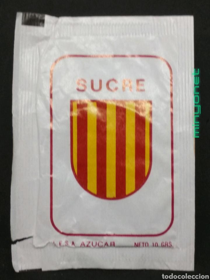 Sobres de azúcar de colección: Sobre de azúcar serie Equipos del Mundial 82 - Honduras. Cafés Prats Mercader. AESA, 10 gr. - Foto 2 - 206966393