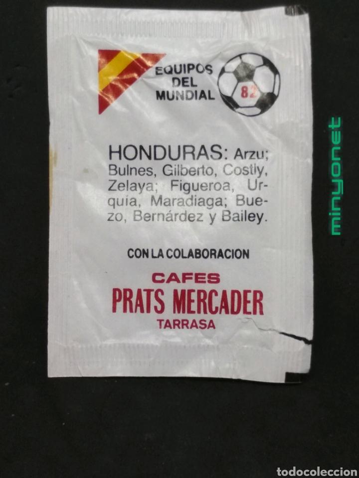 SOBRE DE AZÚCAR SERIE EQUIPOS DEL MUNDIAL 82 - HONDURAS. CAFÉS PRATS MERCADER. AESA, 10 GR. (Coleccionismos - Sobres de Azúcar)