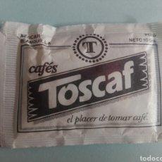 Pacotes de Açúcar de coleção: 1 SOBRE DE AZÚCAR / AZUCARILLO LLENO - CAFÉS TOSCAF - AÑOS 90 - PEDIDO MÍNIMO. Lote 207362843