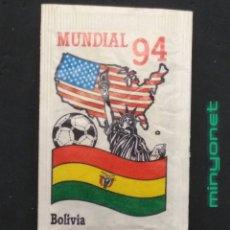 Bustine di zucchero di collezione: SOBRE DE AZÚCAR SERIE MUNDIAL 94 - BOLIVIA - CAFÉS BRASILIA. PRODUCTOS DEL CAFÉ, 10 GR.. Lote 207466855