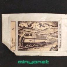 Pacotes de Açúcar de coleção: SOBRE DE AZÚCAR SERIE TRENES - 12 TALGO. CAFÉS SAULA. MAYSE, 8 GR.. Lote 208449242