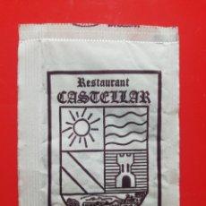 Pacotes de Açúcar de coleção: SOBRE AZÚCAR RESTAURANTE CASTELLAR. Lote 208812698